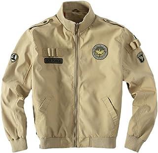 [nomad.j] メンズジャケット MA-1 タクティカル フライトジャケット アウター 軽量 防風 防寒 ライディングジャケット