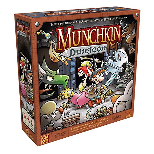 Asmodee Munchkin Dungeon, Kennerspiel, Dungeon Crawler, Deutsch