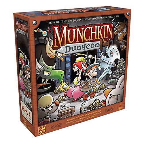 Asmodee Munchkin Dungeon, Kennerspiel, Dungeon Crawler, Deutsch
