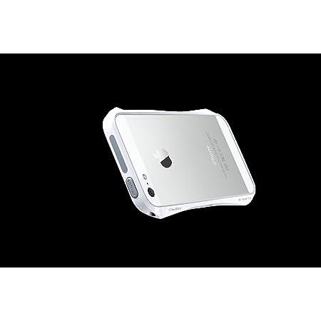 [iPhone SE/5/5s専用]CLEAVE ALUMINUM BUMPER AERO(ラグジュアリーホワイト)