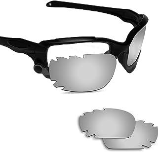 Fiskr 剥がれ防止 Oakley Jawbone 交換用レンズ 偏光 ジョウボーン 替えレンズ