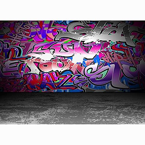Fondo de fotografía de Retrato de bebé, Fondo de fotografía de Graffiti de Arte de Pared de ladrillo Accesorios de fotografía de Estudio A15 7x5ft / 2,1x1,5 m