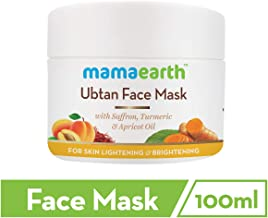 Mamaearth Ubtan Face Mask For Skin Light & Brightening, 100 ml