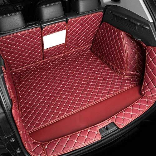Fit estera maletero del coche Fit for BMW X1 X3 X4 X5 X6 X2 E46 E39 E60 F10 F11 de línea de carga interior Accesorios Alfombra estilo del coche, un conjunto completo esteras tronco Forro de maletero C