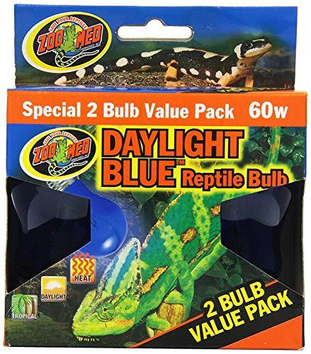 Zoo Med 4-Pack Daylight Blue Reptile Bulb, 60-watt