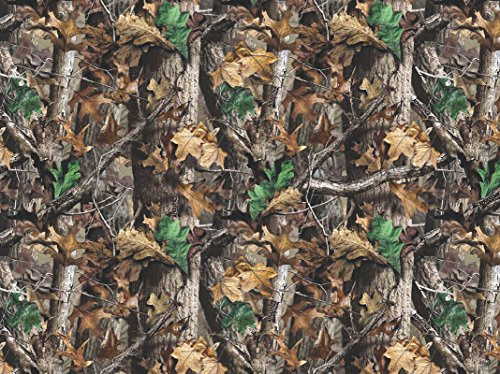 Realtree Flannel Fabric Sold by The Yard-Real Tree Cotton Flannel Fabric-Realtree Camouflage Flannel