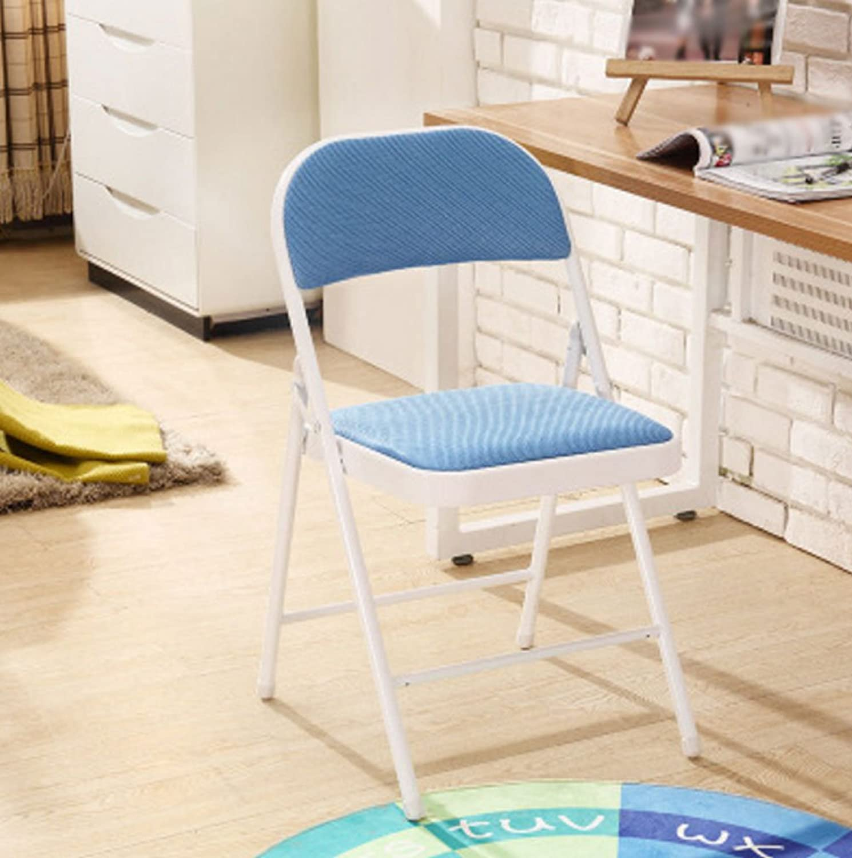 CQOZ Folding Chair Computer Chair Household Leisure Armchair Dining Chair Student Dorm Stool Office Chair Training Chair Folding Chair (color    15)