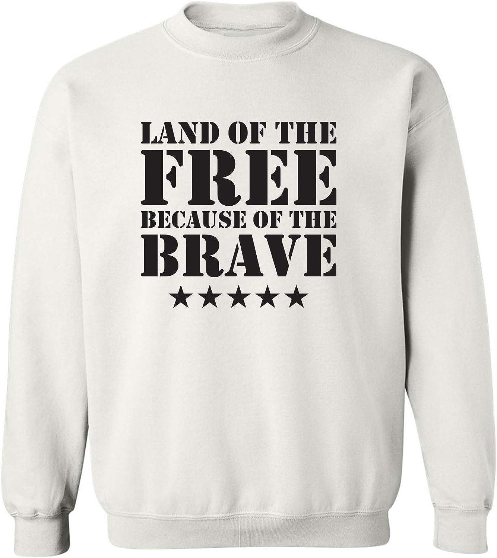 Land Of The Free Crewneck Sweatshirt