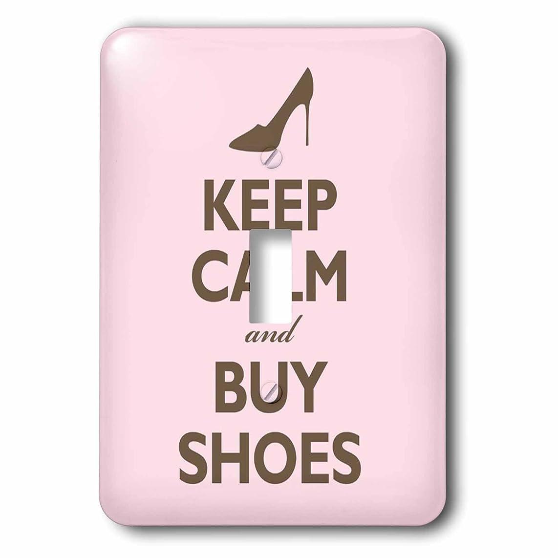 受け継ぐミス名門3drose LSP 159571?_ 1?Keep Calm and Buy Shoes、ピンクライトスイッチカバー