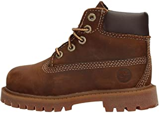 "Timberland Authentic 6"" – Botas para Niños, Marrón"