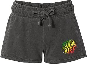 Koloa Surf Women's Brush Design French Terry Shorts Sizes S-2XL