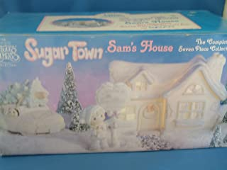 Sugar Town Sam's House The complete 7 piece collector's set Precious Moments #531774