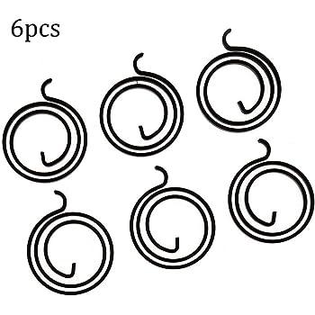 Molle di ricambio per maniglia della porta spessore 1,8 mm molla elicoidale interna confezione da 20 2 giri