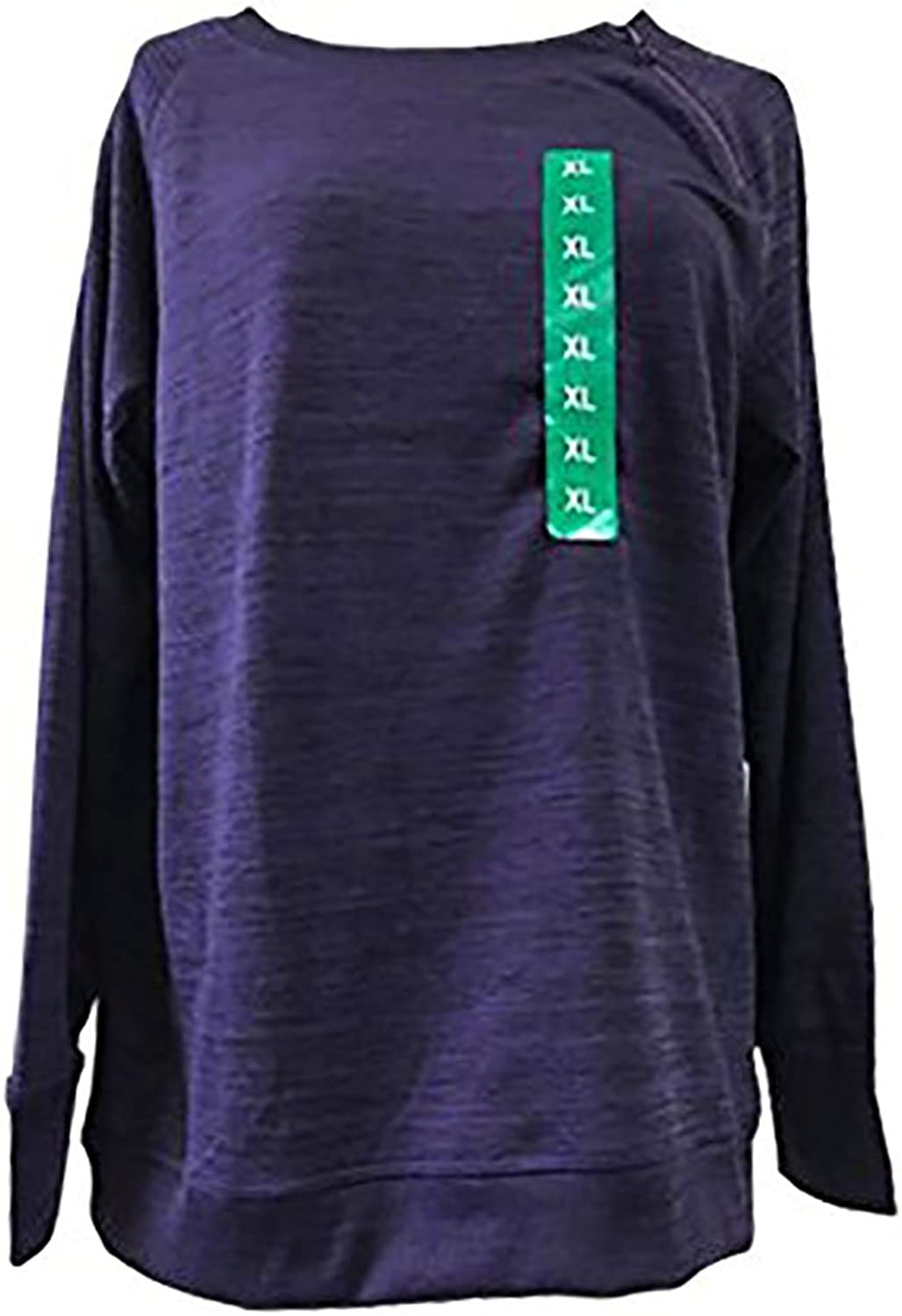 Gerry Journey Women's Zip Neck Long Sleeve Shirt. color Purple. Size  XXLarge.