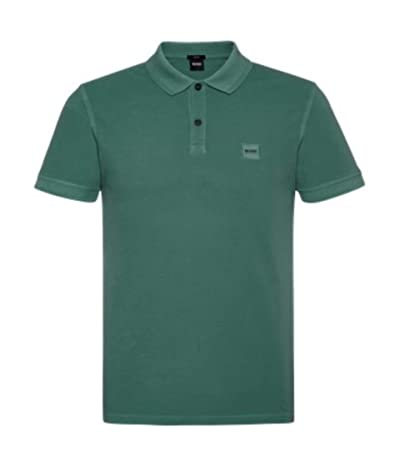 BOSS Hugo Boss Prime Polo (Medium Green) Men