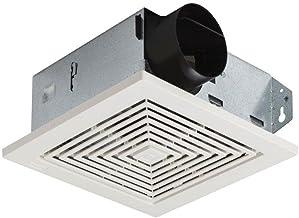 Ventilation for Room Door White Bathroom WC 457x92 mm Bathroom Ventilation HOJU 9020