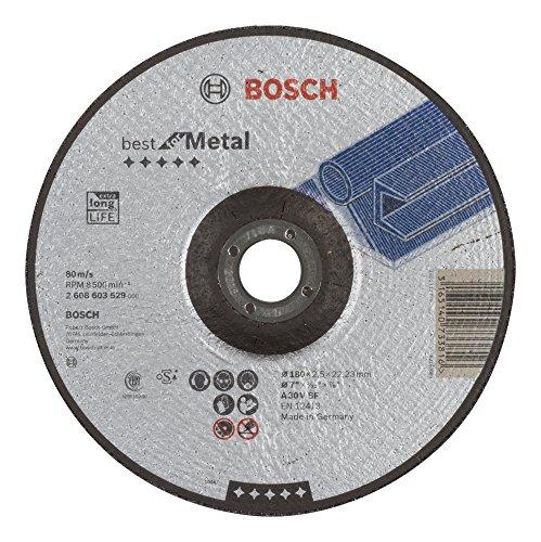 Bosch Professional Trennscheibe gekröpft Best for Metal 2608603529, 1 Stück