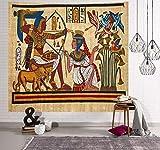 N / A Tapiz de Mandala para Colgar en la Pared Hippie Egipto Tapiz psicodélico decoración del Arte del hogar Sala de Estar Dormitorio decoración del Dormitorio Fondo Tapiz de Tela A216 150x200cm