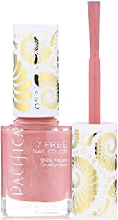 Pacifica, Nail Polish Pink Crush 7 Free, 0.4 Fl Oz