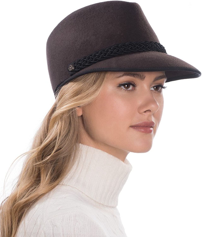 Eric Javits Luxury Fashion Designer Women's Headwear Hat  Clia