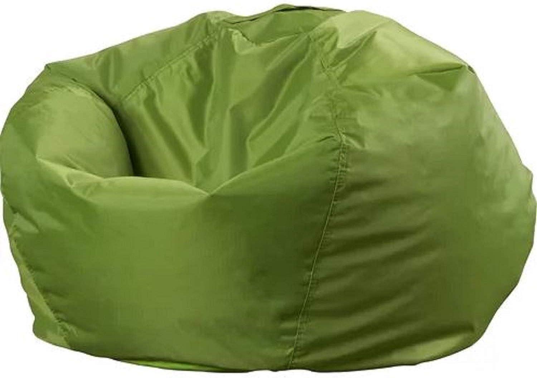 Medium Bean Bag Chair. 98  Round Big Joe Smartmax Medium Bean Bag Chair with Handle Double Stitched Polyester Blend Fabric (Spicy Lime)