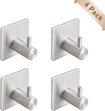 Schlafzimmer und B/üro Badezimmer Yuhtech 30 St/ück 3 Gr/ö/ßen S Haken Edelstahl S-f/örmige Haken zum Aufh/ängen in K/üche