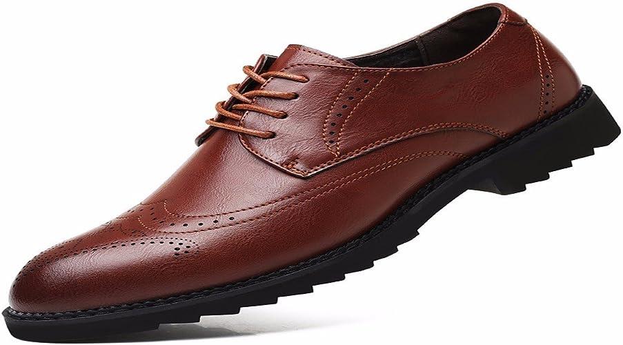 KMJBS-Une Affaire d'hommes Et De Loisirs des Chaussures en Cuir Chaussures en Cuir De Britannique Attaché