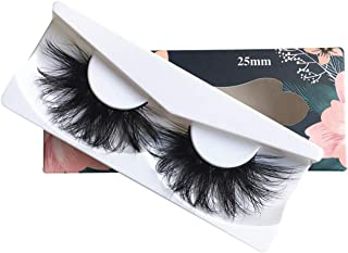 3D Mink Lashes Long Natural False Eyelashes For Makeup 25mm Lashes Handmade Volumn Mink Eyelashes Thick 25mm Full Strip Lashes Maquiagem(X06)