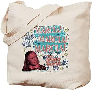 CafePress The Brady Bunch: Marcia! Natural Canvas Tote Bag, Reusable Shopping Bag