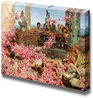 wall26 - The Roses of Heliogabalus by Lawrence Alma-Tadema - Canvas Print Wall Art Famous Painting Reproduction - 24