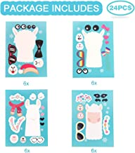 24PCS Llama Stickers for Llama Party Supplies , DIY Llama CartoonStickers for LlamaPartyDecorations for Children 3+, Llama Theme Birthday Party Favor - Let Your Kids Get Creative & Design