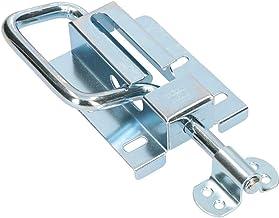 KOTARBAU deurgrendel 120/12 mm deurgrendel boutgrendel sektonaltor veer grendel deurslot verzinkt zilver