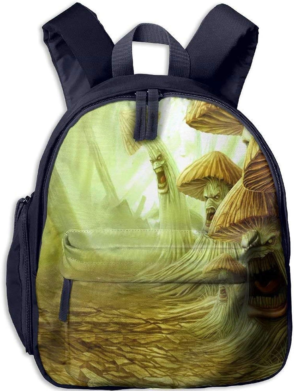 Backpack, School Backpack for Boys Girls Girls Girls Cute Fashion Mini Toddler Canvas Backpack, Mushroom Monsters B07LFZZYYX  Am wirtschaftlichsten 0f7dbb