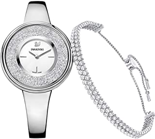 Swarovski Crystalline Pure Set - Bracelet and Ladies Watch 5380026