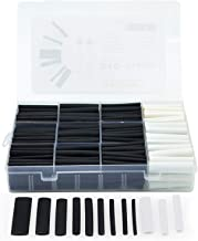 310Pcs Heat Shrink Tubing Kit 3:1, Dual Wall Adhesive Heat Shrink Tubes,Premium Wire Cable Sleeve Tube Assortment with Storage Case for DIY by TangyueW