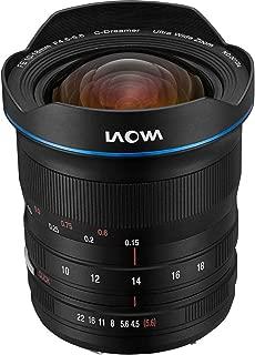 Laowa 10-18mm f/4.5-5.6 Zoom Lens for Sony FE-Mount (Full Frame)