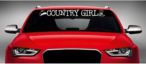 Country Girl White 8.75 x 5.65 in CCI141
