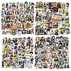 Rich Character Scene - The package includes 200 hydro flask stickers for of different styles, 4 animes each with 50 different scenes and characters, you are sure to get what you like! Value combinations include demon slayer sticker, my hero academia ...