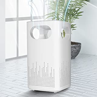 Air Purifiers for Bedroom Car Air Purifiers PARSMIC Mini Desktop Air Purifier for Home HEPA Air Purifier with True Air Fil...