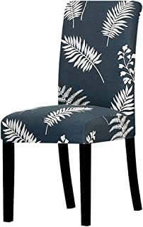 yuexianghui Printed Flower Universal Size Chair Cover Stretch Seat Chair Covers for Wedding Banquet Restaurant Hotel Dining Living Room,K330,Universal Size