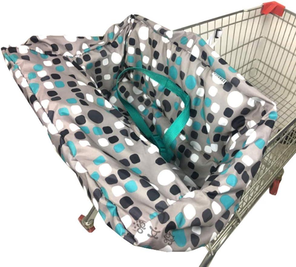 ZHANGLI Shopping Cart Seat Covers Mat for Baby, Portable Non-Slip High Chair Multifunctional Baby Supermarket Shopping Cart Mat Cushion