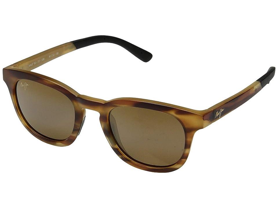 Maui Jim Koko Head (Matte Tortoise/HCL Bronze) Sport Sunglasses