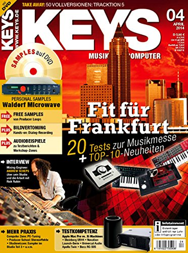 Keys 4 2014 mit DVD - Waldorf Microwave - Software auf DVD - Personal Samples - Free Loops - Audiobeispiele