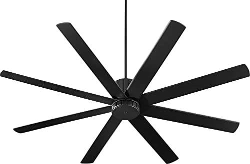 discount Quorum 96728-69 Transitional 72``Ceiling Fan from online Proxima Collection in Black 2021 Finish, online