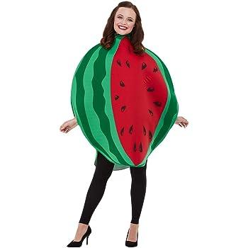 Smiffys Watermelon Costume Disfraz de sandía, color rojo y verde ...