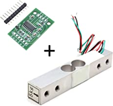 Degraw 5kg Load Cell and HX711 Combo Pack Kit - Load Cell Amplifier ADC Weight Sensor for Arduino Scale - Everything Needed for Accurate Force Measurement