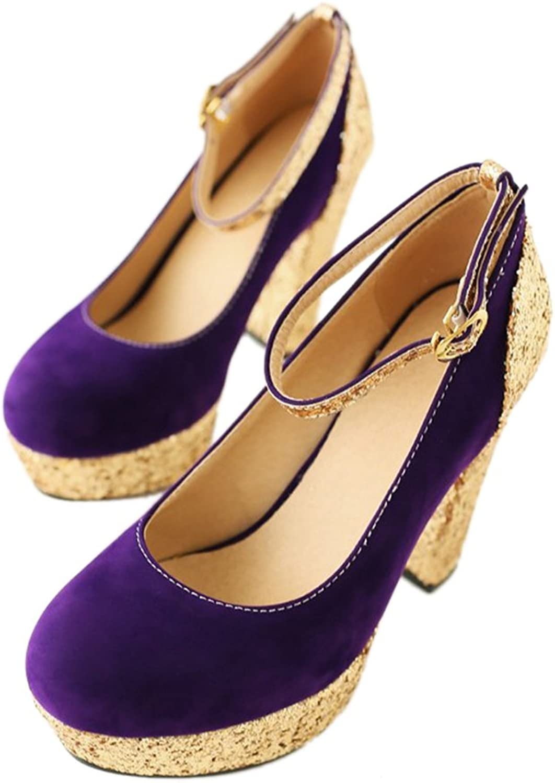 Bridesmaid Wedding Women shoes purple 39
