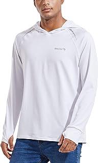 BALEAF Men's UPF 50+ Sun Protection Hoodie Shirt Long Sleeve SPF/UV Dri Fit Lightweight Outdoor Hiking Fishing