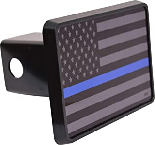 thin blue line hitch cover
