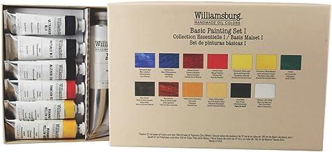 Williamsburg Handmade Oil Colors Basic Painting Set I